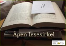 Nytt tilbud – Åpen lesesirkel