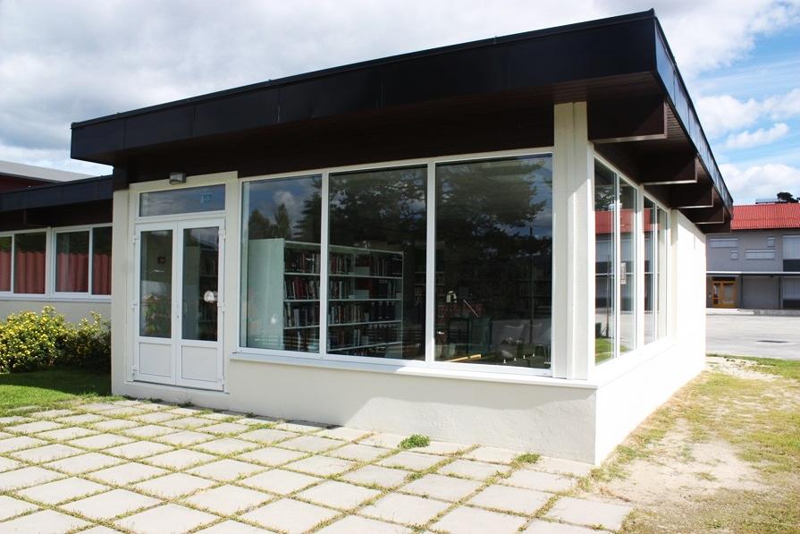 Ringerike bibliotek avdeling Sokna – meråpent