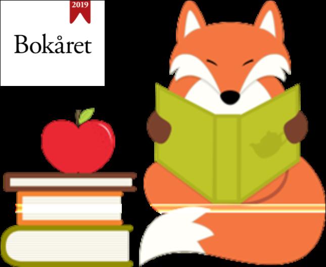 Bokreven feirer Bokåret 2019