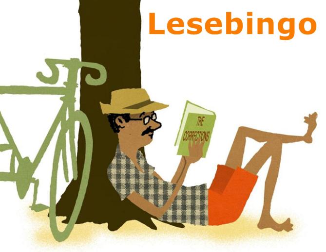 Lesebingo for ungdom og voksne