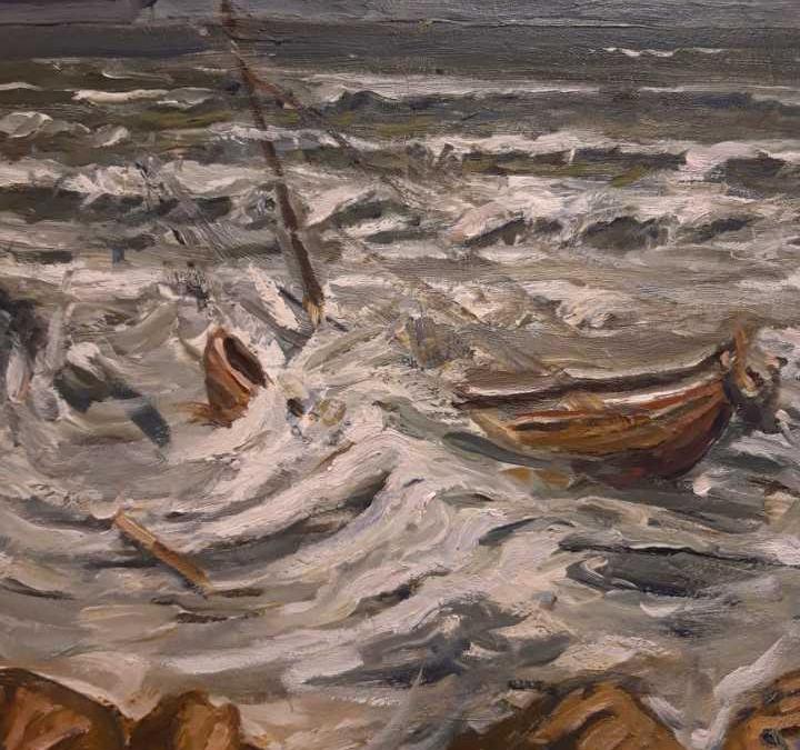 Maleriutstilling ved Willy Wilhelmsen