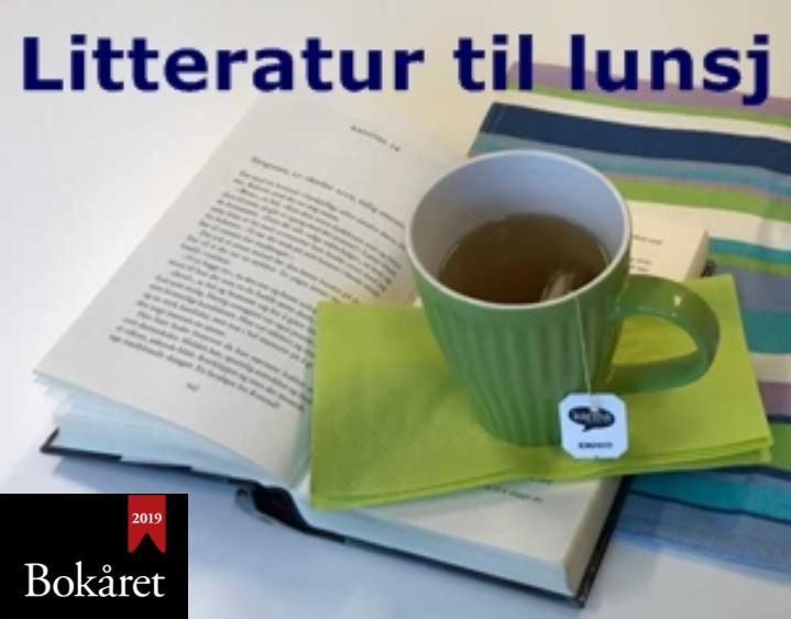 Litteratur til lunsj med forfatter Olav Norheim
