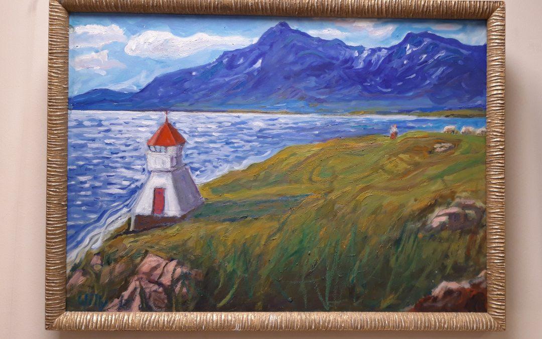 Maleriutstilling av Willy P. Wilhelmsen