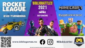Bibliobattles 2021 @ På nett