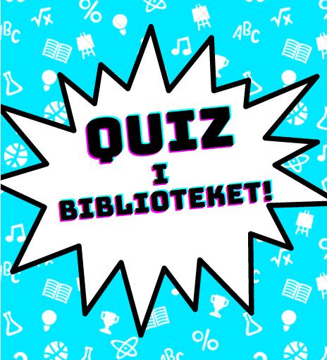 Quiz i biblioteket