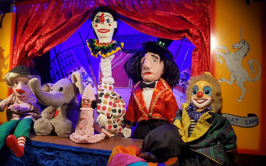 Dukketeaterforestilling – Sirkus Buster: Barnas eget Sirkus